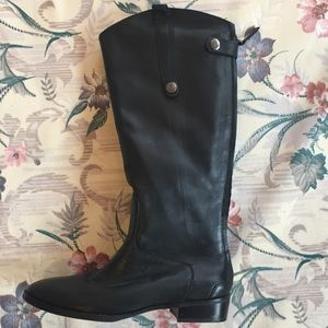 Shoes - Knee high leather boots